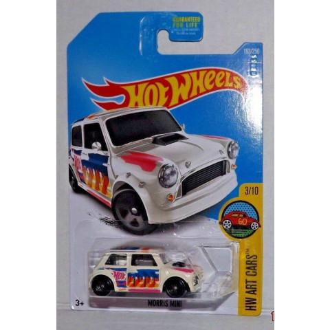 Hot Wheels - Morris Mini Bege - Mainline 2016