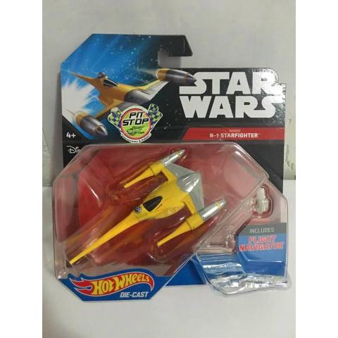 Hot Wheels - Naboo N-1 Starfighter- Star Wars