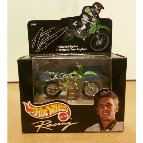 Hot Wheels - Nathan Ramsey Verde - Black Box - Collectibles