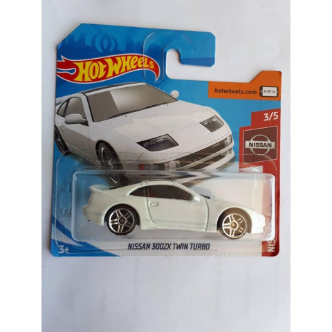 Hot Wheels - Nissan 300ZX Twin Turbo Branco - Mainline 2019