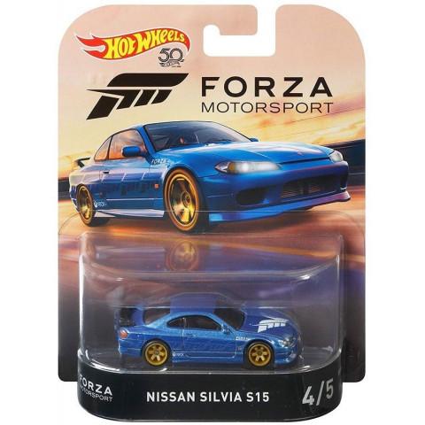 Hot Wheels - Nissan Silvia S15 Azul - Forza Motorsport - 50th