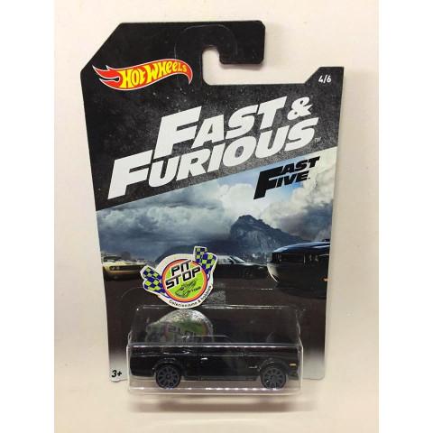 Hot Wheels - Nissan Skyline Preto - Fast & Furious - Fast Five