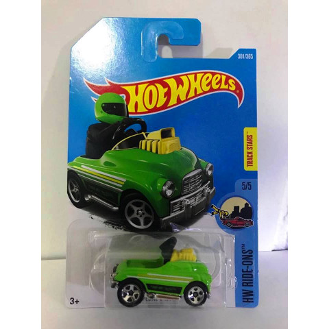 Hot Wheels - Pedal Driver Verde - Mainline 2017