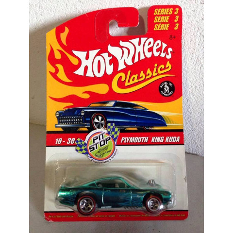 Hot Wheels - Plymouth King Kuda Verde - Classics