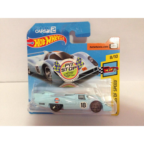 Hot Wheels - Porsche 917 LH Azul - Mainline 2018