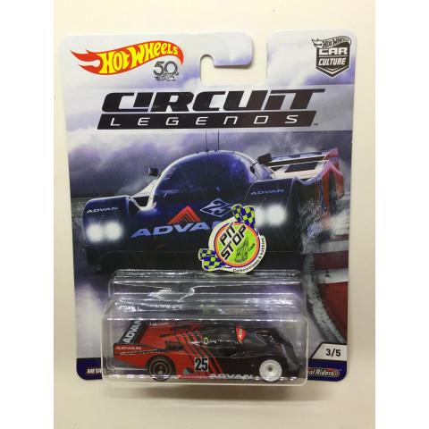 Hot Wheels - Porsche 962 Preto - Circuit Legends