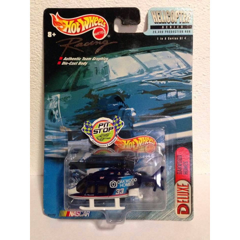 Hot Wheels - Propper Chopper Helicopter Azul - Oakwood Homes - Racing