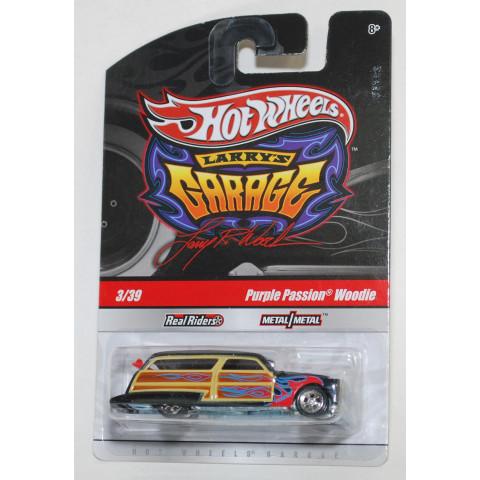 Hot Wheels - Purple Passion Woodie Preto - Garage - Base Malásia