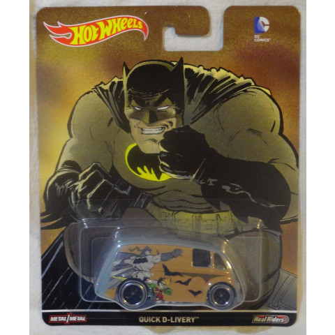 Hot Wheels - Quick D-Livery - Batman - DC Comics