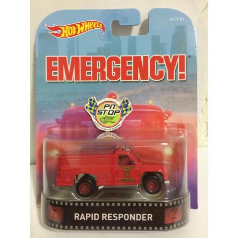 Hot Wheels - Rapid Responder - Emergency!