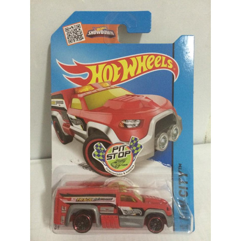 Hot Wheels - Rescue Duty Vermelho - Mainline 2015
