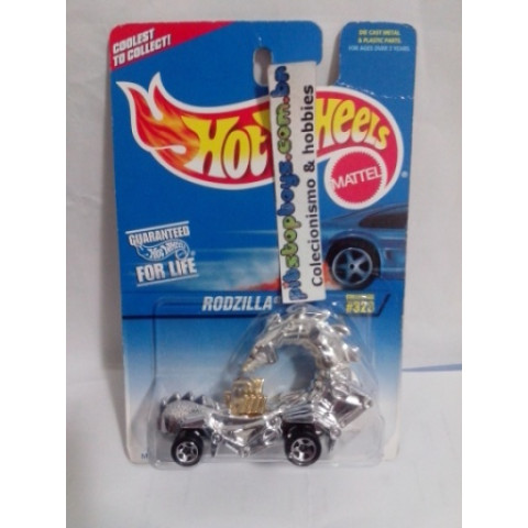 Hot Wheels - Rodzilla - Mainline 1997 - Rodas 5SP