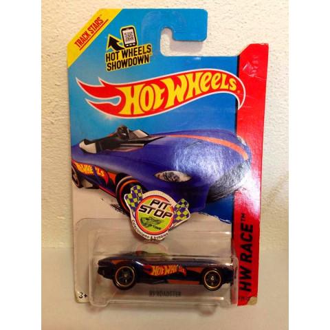 Hot Wheels - RRRoadster Azul - Treasure Hunt Super 2014