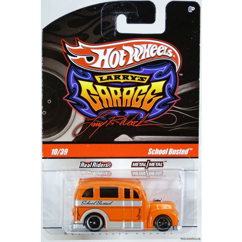 Hot Wheels - School Busted Laranja - Garage