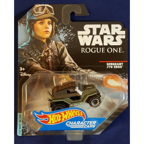 Hot Wheels - Sergeant Jyn Erso - Rogue One - Star Wars