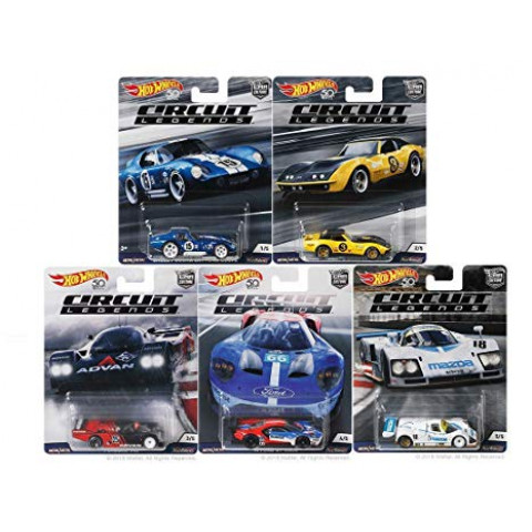 Hot Wheels - Set Circuit Legends - Car Culture 2018 Completo