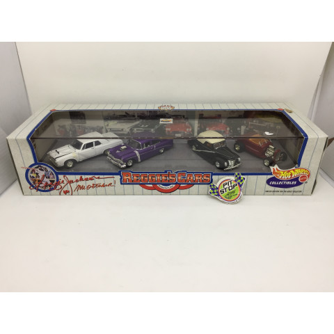Hot Wheels - Set Reggie Cars - Hot Rod - HW Collectibles