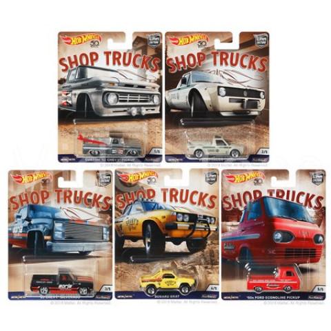 Hot Wheels - Set Shop Trucks 2018 - Completo -  Car Culture
