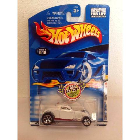 Hot Wheels - Sooo Fast Branco - Mainline 2001