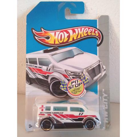 Hot Wheels - Speedbox Branco - Mainline 2013