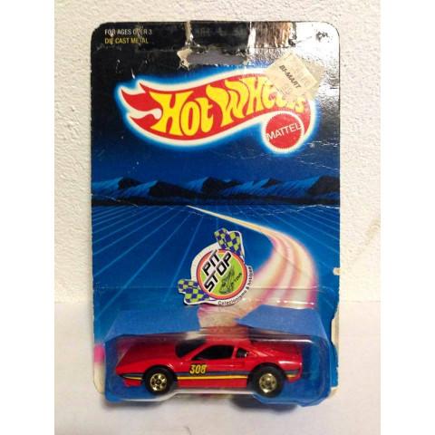 Hot Wheels - Street Beast Vermelho (Ferrari 308) - Mainline 1987