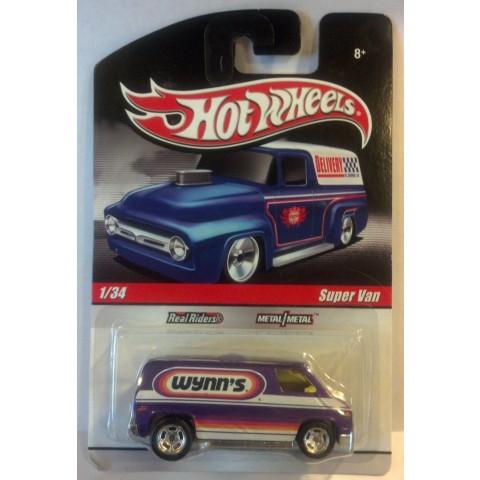 Hot Wheels - Super Van Roxa - Série Delivery