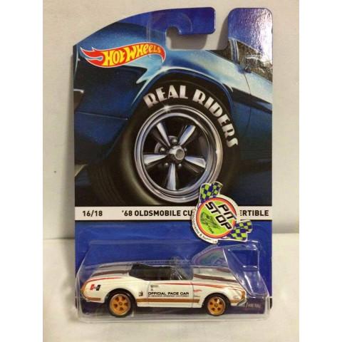 Hot Wheels - 68 Oldsmobile Cutlass Convertible Branco - Heritage - Real Rides