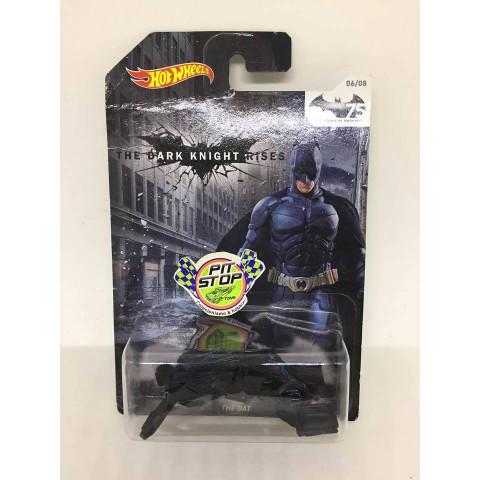 Hot Wheels - The Bat Preto - The Dark Knight Rises - 75 Years of Batman