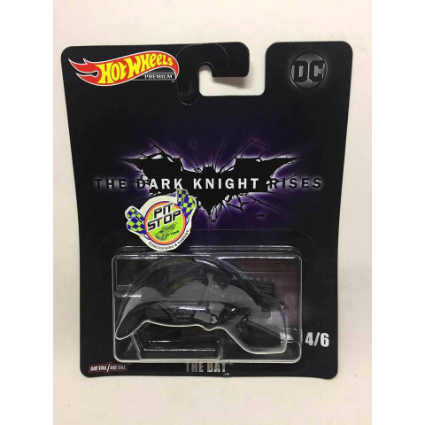 Hot Wheels - The Bat Preto - The Dark Knight Rises - DC - HW Premium