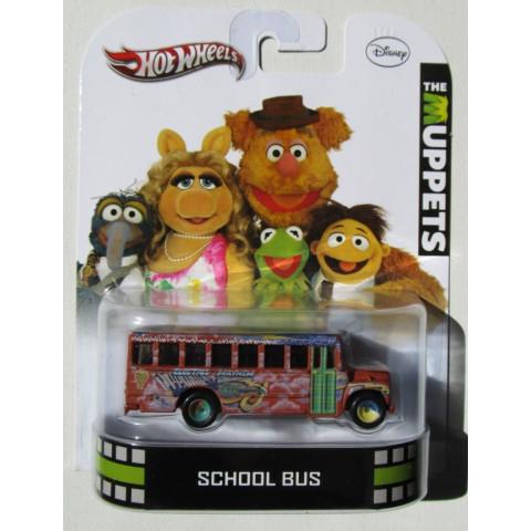 Hot Wheels - The Muppets - School Bus - Retro