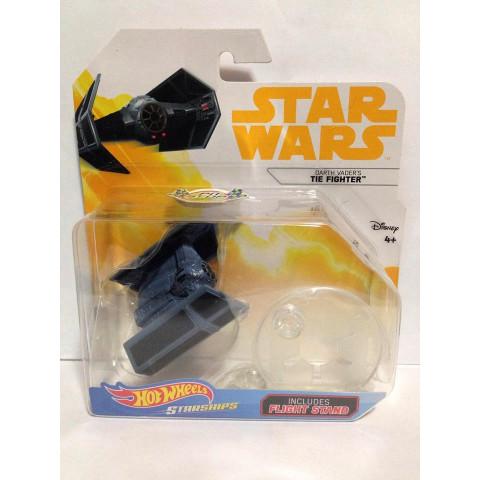 Hot Wheels - Tie Fighter Azul - Darth Vader - Star Wars