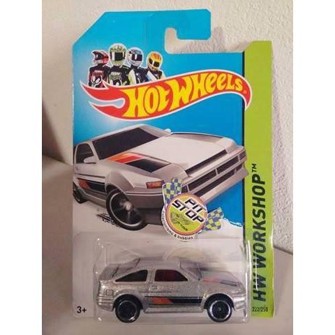 Hot Wheels - Toyota AE-86 Corolla Cinza - Mainline 2014