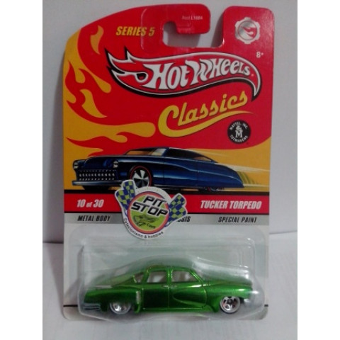 Hot Wheels - Tucker Torpedo Verde - Classics