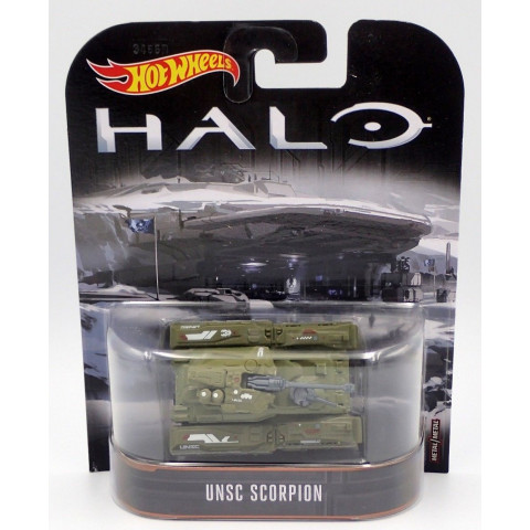 Hot Wheels - UNSC Scorpion - HALO - Retro