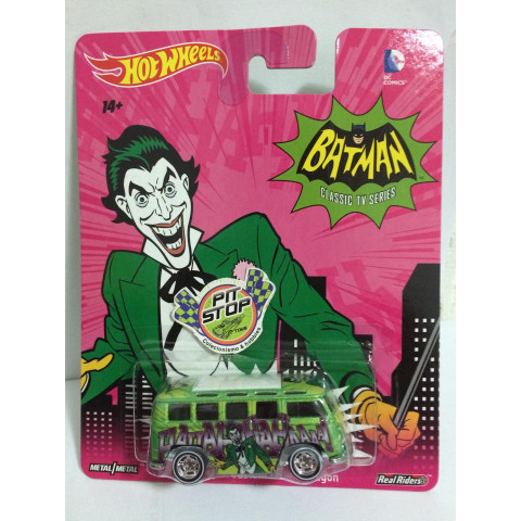 Hot Wheels - Volkswagen Custom Deluxe Wagon - Batman Classic Tv Series - DC Comics