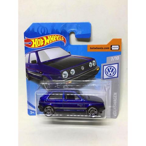 Hot Wheels - Volkswagen Golf MK2 Azul - Mainline 2019