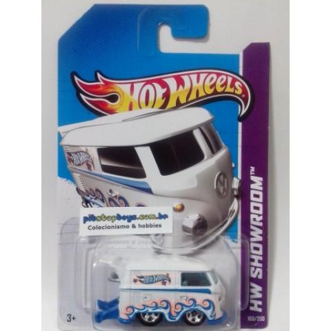 Hot Wheels - Volkswagen Kool Kombi Branca - Mainline 2013