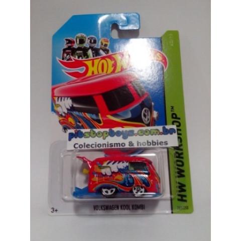 Hot Wheels - Volkswagen Kool Kombi Vermelha - Mainline 2014