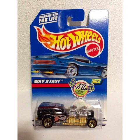 Hot Wheels - Way 2 Fast Preto - Mainline 1999