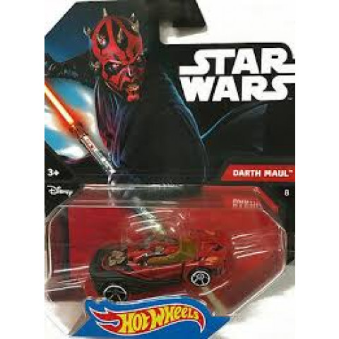 Hot Wheels - Darth Maul Vermelho - Star Wars