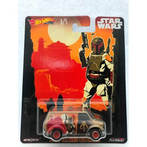 Hot Wheels - Ford Transit Supervan - Star Wars - Pop Culture