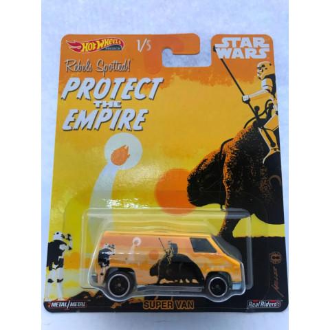 Hot Wheels - Super Van - Star Wars - Pop Culture