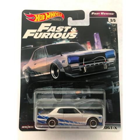 Hot Wheels - Nissan Skyline HT 2000GT-X - Fast e Furious - Fast Rewind