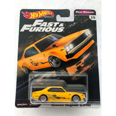 Hot Wheels - Nissan Skyline (C210) - Fast e Furious - Fast Rewind