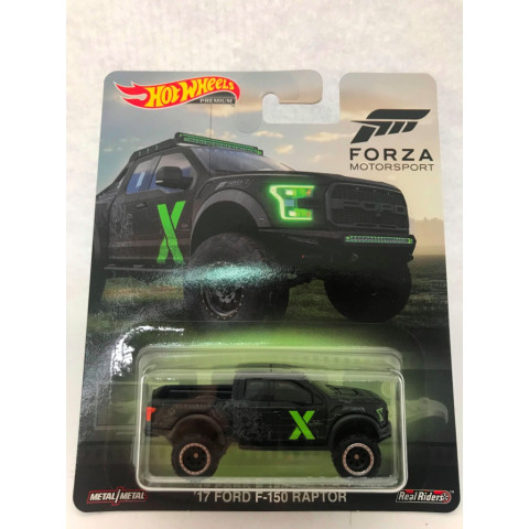 Hot Wheels - 17 Ford F-150 Raptor - Forza Motor Sport - Retro