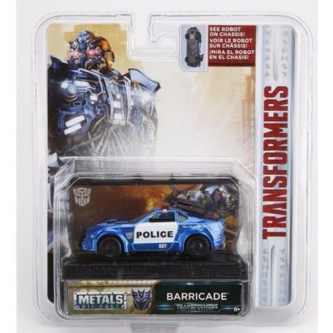 Jada - Barricade - Transformers Metals Die Cast - Leia Descrição