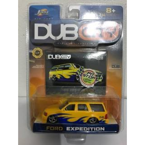 Jada - Ford Expedition Amarelo - Dub City