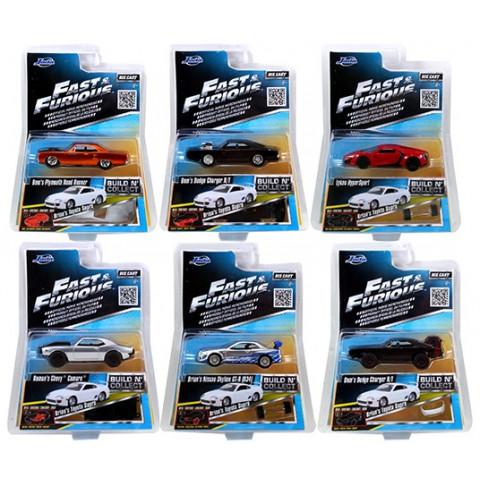 Jada - Lote 1 Velozes e Furiosos - Fast and Furious - Escala 1:55 - 07 Miniaturas