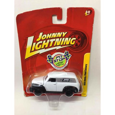 Johnny Lightning - 1950 Chevy Panel Delivery Branco - JL Forever