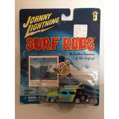 Johnny Lightning - 1955 Chevy Nomad Azul - Surf Rods